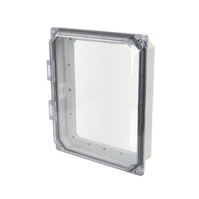 "Allied Moulded 10x8"" Polycarbonate HMI Cover Kit for Enclosures 