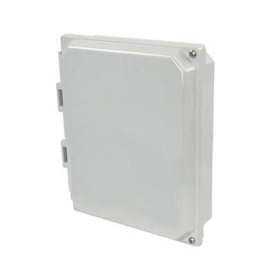 "Allied Moulded 10x8"" Polycarbonate HMI Cover Kit for Enclosures | AMHMI108HTP"