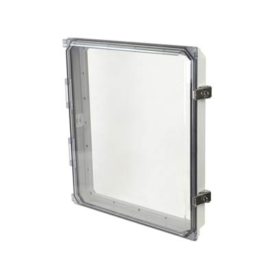 "Allied Moulded 16x14"" Polycarbonate HMI Cover Kit for Enclosures 