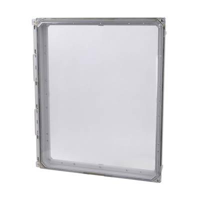 """Allied Moulded 20x16"""" Polycarbonate HMI Cover Kit for Enclosures   AMHMI206CCH"""
