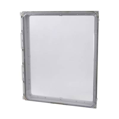 """Allied Moulded 20x16"""" Polycarbonate HMI Cover Kit for Enclosures   AMHMI206CCHTP"""