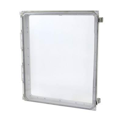"""Allied Moulded 20x16"""" Polycarbonate HMI Cover Kit for Enclosures   AMHMI206CCL"""