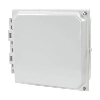"Allied Moulded 6x6"" Polycarbonate HMI Cover Kit for Enclosures | AMHMI66HTP"