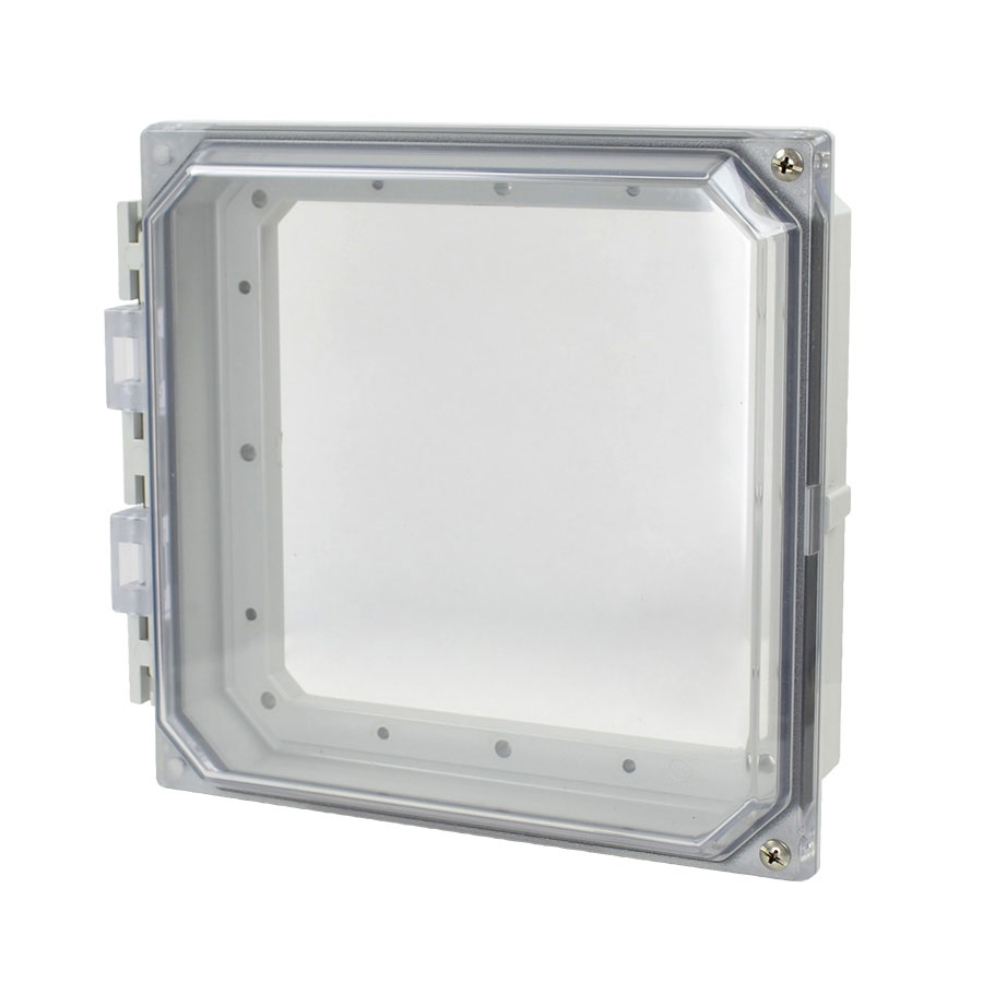 """Allied Moulded 8x8"""" Polycarbonate HMI Cover Kit for Enclosures   AMHMI88CCH"""