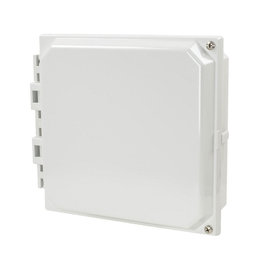 """Allied Moulded 8x8"""" Polycarbonate HMI Cover Kit for Enclosures   AMHMI88H"""