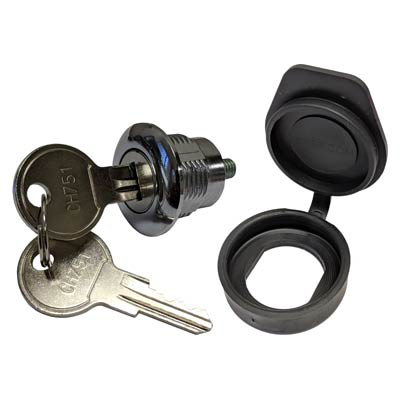 Allied Moulded AMKEYLOCKFC Key Locking Quarter-Turn Key Lock