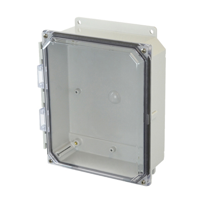 Allied Moulded AMP1082CCF Polycarbonate Clear Cover Enclosures