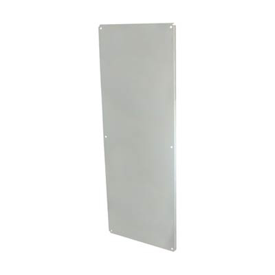 """Allied Moulded Products P7225CS Steel Back Panel for 72x25"""" Electrical Enclosures"""