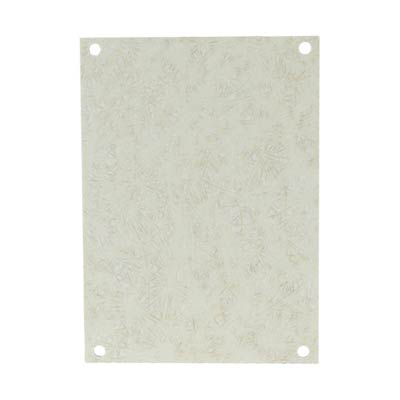 """Allied Moulded Products PF108 Fiberglass Back Panel for 10x8"""" Electrical Enclosures"""