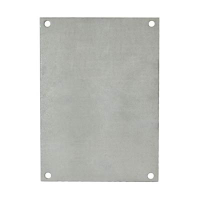 """Allied Moulded Products PG108 Steel Back Panel for 10x8"""" Electrical Enclosures"""