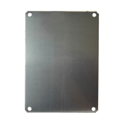 """Allied Moulded Products PLA86 Aluminum Back Panel for 8x6"""" Electrical Enclosures"""