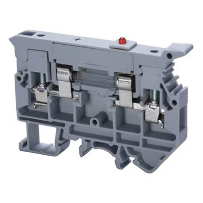 Altech CAFL4U(L)/24 Single Level Fuse Terminal Block