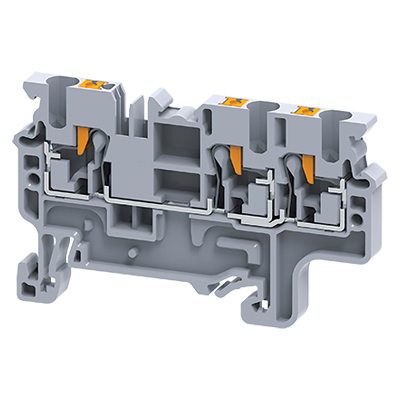 Altech CP2.5/3/DB Feed-Through Terminal Block