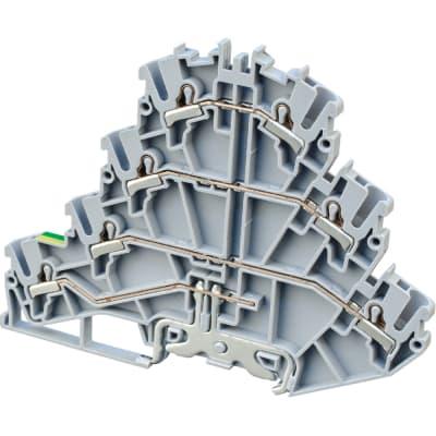 Altech CP4LG2.5 Feed-Through Terminal Block