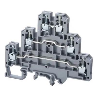 Altech CTL2.5U/BU Feed-Through Terminal Block