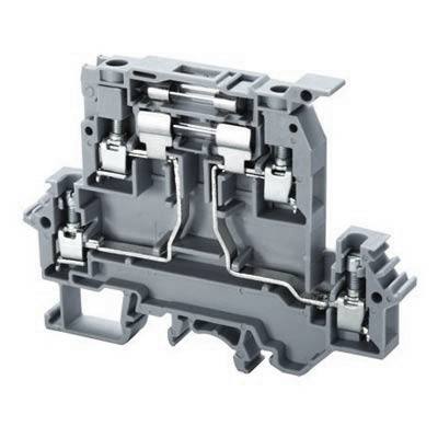 Altech DDFL4ULR Double Level Fuse Terminal Block