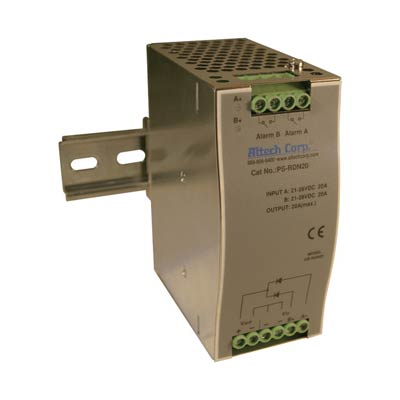 Altech PS-RDN20 480W Single Phase DIN Rail Switching Power Supply
