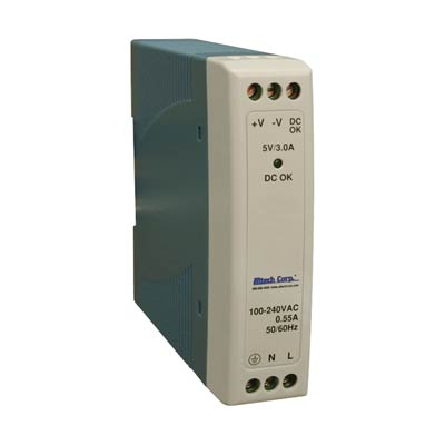 Altech PS-S1024 10W Single Phase DIN Rail Switching Power Supply