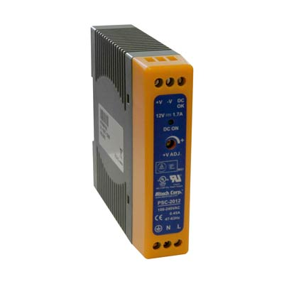 Altech PSC-2012 20W Single Phase DIN Rail Switching Power Supply