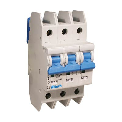 Altech 3DU02L Miniature Circuit Breaker