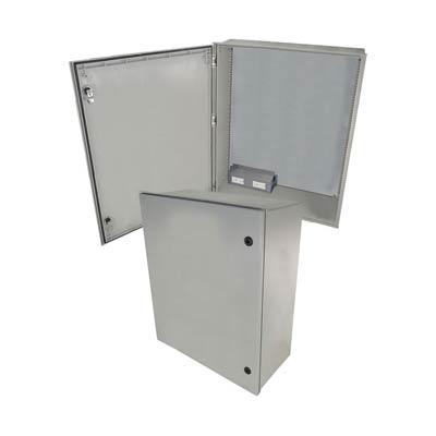 "Altelix 32x24x12"" Fiberglass Enclosure with 120V Power | NFC322412A1"