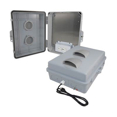 Altelix NP141105VA1C-GFI Polycarbonate Electrical Enclosure