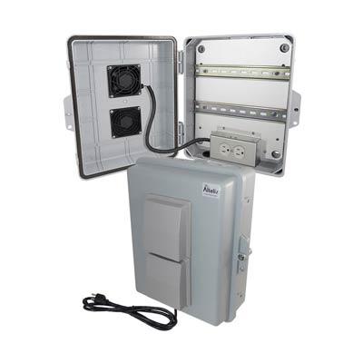 Altelix NP141105VFA1C-DIN Polycarbonate Electrical Enclosure