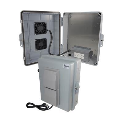 Altelix NP141105VFA1C-GFI Polycarbonate Electrical Enclosure