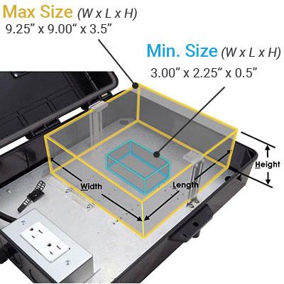 Altelix AP17AV Equipment Space