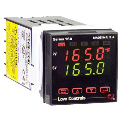 Dwyer 16A2111, 1/16 DIN Temperature Process Controller