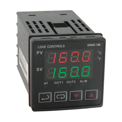 Dwyer 16B-33, 1/16 DIN Temperature Process Controller