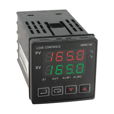 Dwyer 16C-5, 1/16 DIN Temperature Process Controller