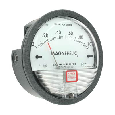 Dwyer 2000-0 Magnehelic Differential Pressure Gauge