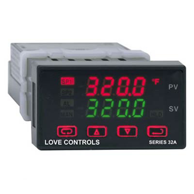 Dwyer 32A123, 1/32 DIN Temperature Process Controller