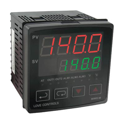 Dwyer 4B-33-986/U, 1/4 DIN Temperature Process Controller