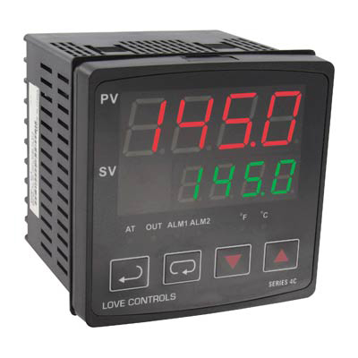 Dwyer 4C-3, 1/4 DIN Temperature Process Controller