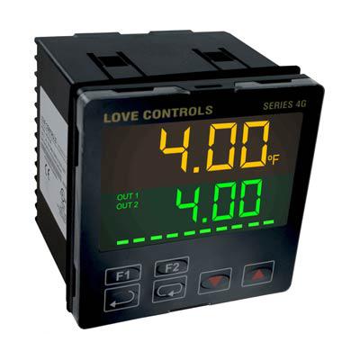 Dwyer 4G-23-11, 1/4 DIN Temperature Process Controller