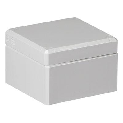 Ensto DPCP080806G.U Polycarbonate Electronic Enclosure w/Solid Cover