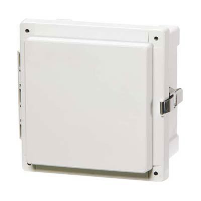 Fibox AR10106CHSS Polycarbonate Electrical Enclosure w/Solid Cover