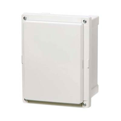 Fibox AR12106SC Polycarbonate Electrical Enclosure w/Solid Cover