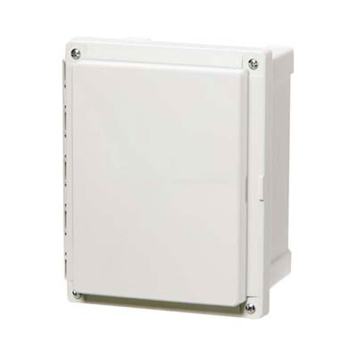 Fibox AR865CHSC Polycarbonate Electrical Enclosure w/Solid Cover