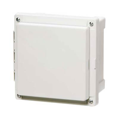 Fibox AR884CHSC Polycarbonate Electrical Enclosure w/Solid Cover