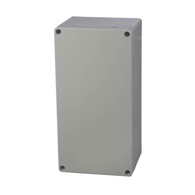 Fibox UL PC 122410 Polycarbonate Electronic Enclosure w/Solid Cover
