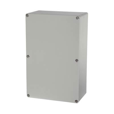Fibox UL PC 162509 Polycarbonate Electronic Enclosure w/Solid Cover