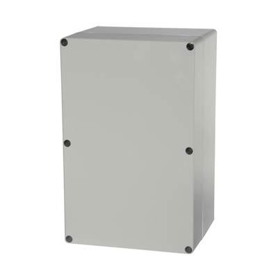 Fibox UL PC 162515 Polycarbonate Electronic Enclosure w/Solid Cover