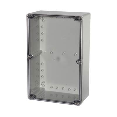 Fibox UL PCT 162509 Polycarbonate Electronic Enclosure w/Clear Cover