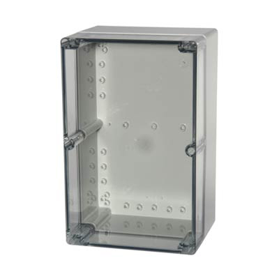 Fibox UL PCT 162513 Polycarbonate Electronic Enclosure w/Clear Cover