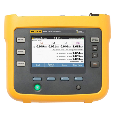 Fluke FLUKE-1734/B Energy Logger Basic Version