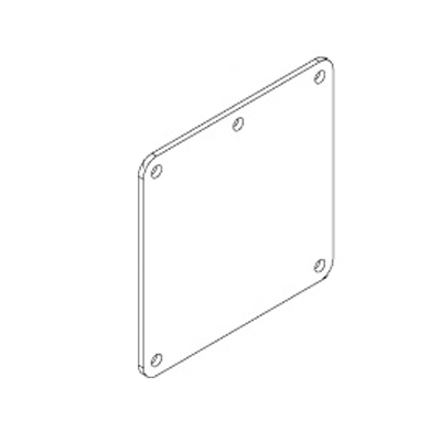 Hammond 1487EH Cover Plate