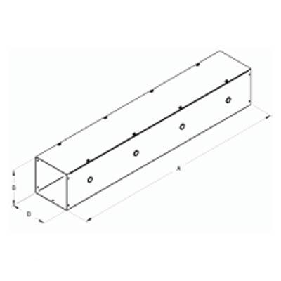 Hammond CWSC236G Steel Lay-In Wireway